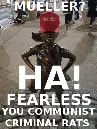 fearless-girl-trump-hat-maga-Mueller