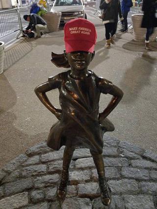 fearless-girl-trump-hat-maga