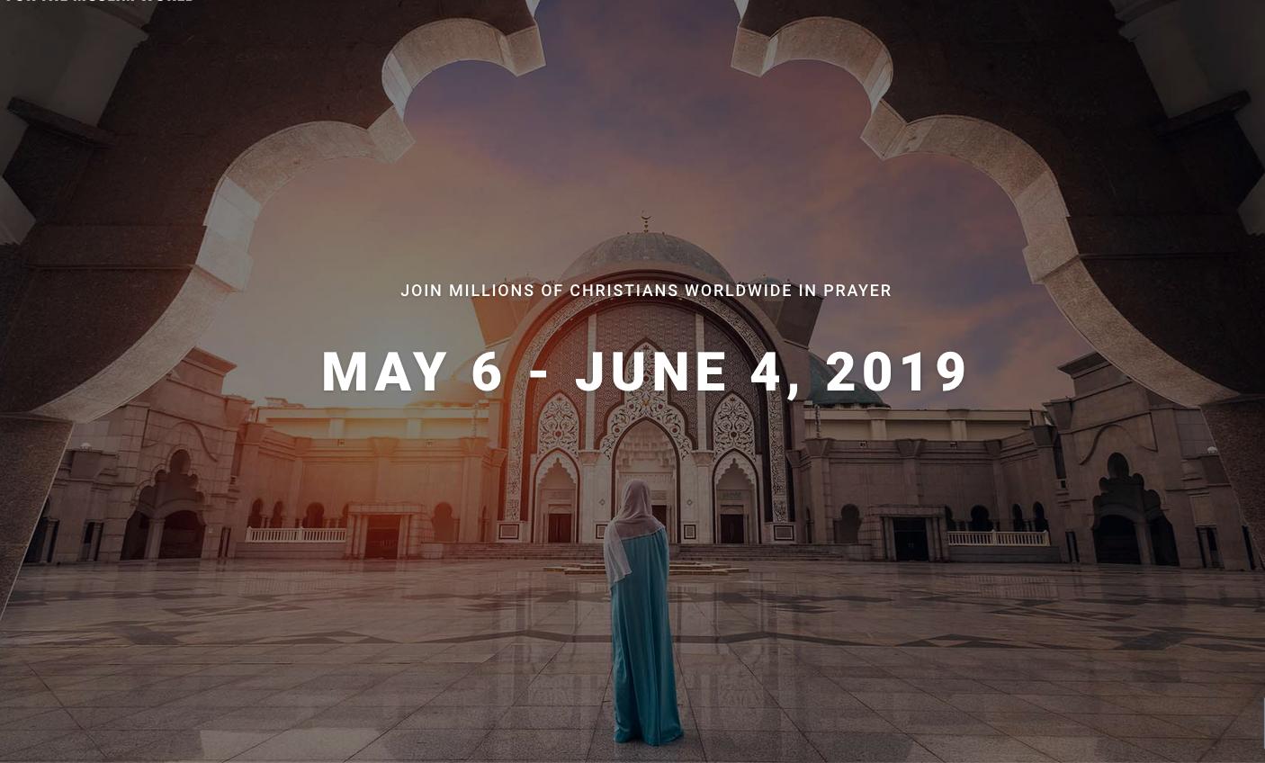 30 Days of Prayer 2019