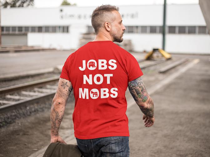 jobs not mobs